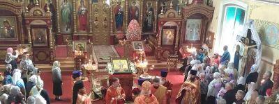 Епископ Валуйский возглавил торжества в честь престольного праздника Никольского собора в Валуйках