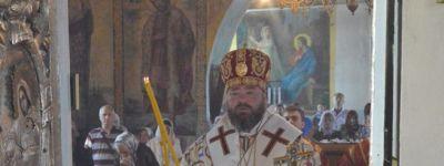 Епископ Губкинский совершил Божественную литургию в Свято-Михайловском храме села Теплый Колодезь
