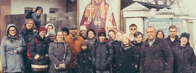 Участники молодежного клуба при храме преподобного Сергия Радонежского побывали в музее священномученика Онуфрия (Гагалюка)