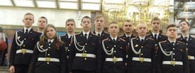 Дипломом 1 степени награждён «Царев-Алексеевский кадетский корпус» из Нового Оскола на всероссийском кадетском смотре