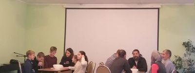 Брейн-ринг «Крещение Руси. Святые равноапостольные Владимир и Ольга» организовали в детском православном центре в Губкине