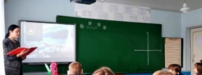 В Соболевской школе прошли литературные посиделки «Раз в Крещенский вечерок»
