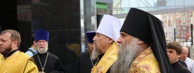 Епископ Валуйский принял участие в открытии  памятника белгородским мученикам за веру