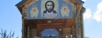 Форум православной молодёжи Валуйской епархии завершился крестным ходом к храму Андрея Первозванного