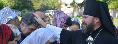 Губкинский епископ вручил церковную награду председателю Совета директоров  «Агропромышленной группа БВК»