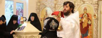 Вознесение Господне праздновали в Богородице-Тихвинском женском монастыре