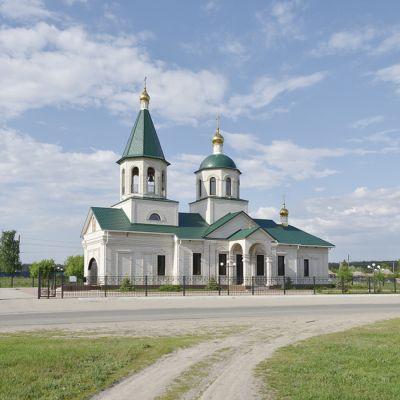 Храм Рождества Христова в селе Безлюдовка