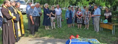 Останки двух священников, найденных на месте, где стояла первая в селе церковь, перезахоронили в Колотиловке