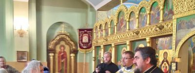 Первая детская Литургия в этом Рождественском посту совершена в Спасо-Преображенском соборе в Губкине