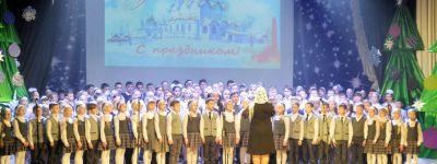 Рождественское представление «Тихий свет Рождества» показали в городе Строитель