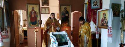 Крестный ход прошёл в Ивановской Лисице