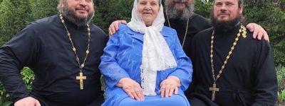 На 82-м году жизни отошла ко Господу матушка Евфросиния Шумских, родительница настоятеля храма прп. Сергия Радонежского