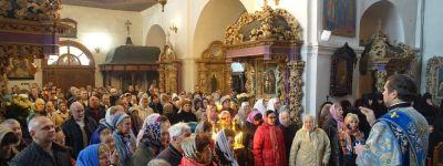 Епископ Губкинский побывал в Полтавской епархии в праздник иконы Пресвятой Богородицы «Упование всехъ концевъ земли»