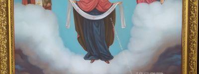 Освящение иконы «Казацкая Покрова» с образом святого казака Петра Калнышевского прошло в храме села Жуково