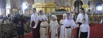 День хиротонии во пресвитеры настоятеля кафедрального собора епархии отметили в Губкине