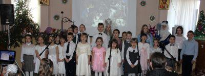Рождественский спектакль показали  ребята из театральной студии Духовно-просветительского центра святителя Иоасафа Белгородского в Грайвороне