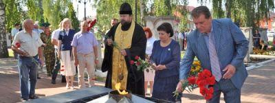 Поминальной молитвой почтили в Грайвороне память солдат, погибших при освобождении города