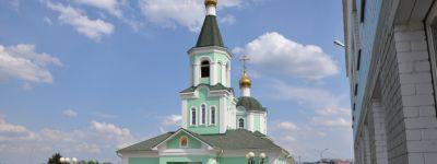 Казачий круг прошёл в казачьем храме Сергия Радонежского в Белгороде