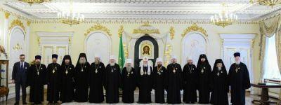 Патриарх Всея Руси наградил Митрополита Белгородского орденом преподобного Сергия Радонежского