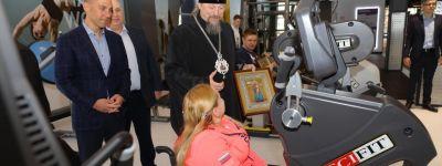 Белгородский митрополит навестил спортсменов-инвалидов