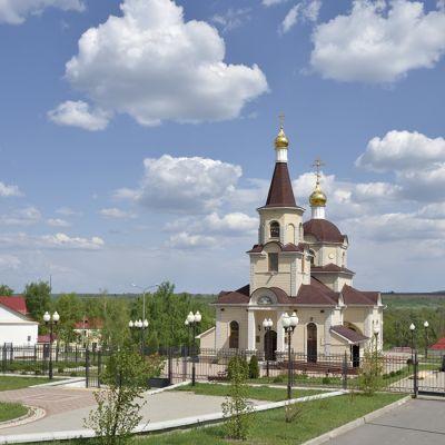 Храм святителя Николая Чудотворца в селе Белый Колодезь
