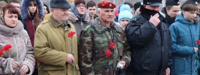 Литию об упокоении погибших в Афганистане советских воинов совершил епископ Губкинский