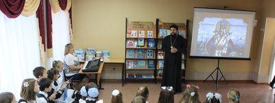 Час духовного общения «Иоасаф Белгородский, покровитель Святого Белогорья» организовали  в школе в Шаталовке