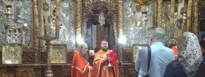 Настоятель Храма Покрова Пресвятой Богородицы села Шопино побывал в паломничестве на Святой Земле