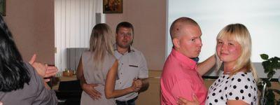 Семейные пары, встретившие первый юбилей свадьбы, чествовали в Духовно-просветительском центре во имя святителя Иоасафа Белгородского  в Грайвороне