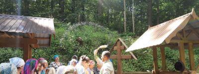 Крестный ход прошёл в день памяти Сергия Радонежского в Теребрено