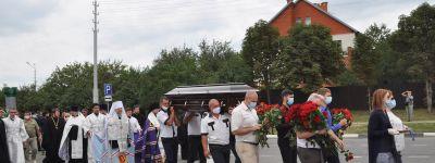 В Белгородской митрополии простились с Анатолием Алексеевичем Кретовым