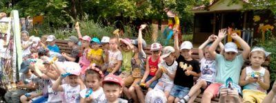 Путешествие в страну Спортландию совершили ребята из православного детского сада в Белгороде