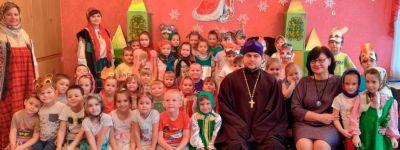 Детский сад «Василёк» освятили в Губкине