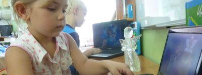 Мультфильм, который воспитывает душу и учит милосердию, показали в детском саду «Родничок» в Старом Осколе