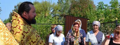 Новая звонница была освящена в Никольском храме села Дроновка