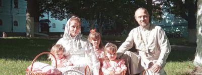 Многодетная семья священника Валуйской епархии победила в фестивале «Моя Россия»