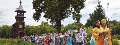 День прославления просветительницы Руси – святой княгини Ольги отметили в Александро-Невском храме в Старом Осколе