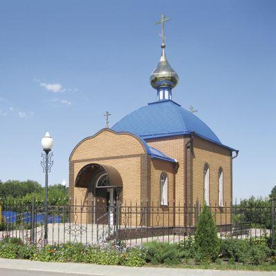 Храм во имя святой Великомученницы Варвары в Илек-Пеньковке