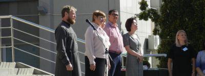 Настоятель Свято-Митрофановского храма пожелал бирюченским студентам Божией помощи в учёбе