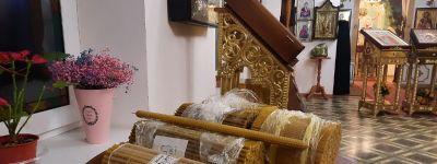 Праздник Сретения Господня торжественно встретили в Богородице-Тихвинском монастыре