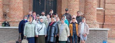 Прихожане Вознесенского храма совершили паломническую поездку в Воскресенский женский монастырь в Зимовеньке