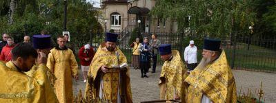 В часовне, воздвигнутой на месте блаженной кончины святителя, праздновали в Грайвороне 110-летие канонизации Иоасафа Белгородского