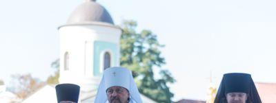 В день памяти усекновения главы Иоанна Предтечи митрополит Белгородский совершил Божественную литургию в Свято-Троицком храме