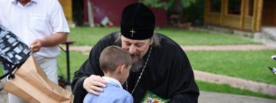 Оздоровительная смена завершилась в детском лагере, работавшем на архиерейском подворье «Рождественское»