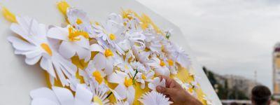 В седьмой раз в Белгороде провели акцию «Белый цветок»