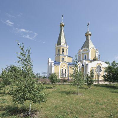 Храм Вознесения Господня в селе Щербаково