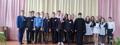 Игру знатоков православной культуры Красненского благочиния провели в школе в Сетище