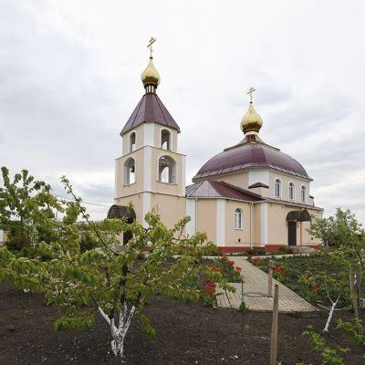 Храм святителя Николая Чудотворца в селе Ломово