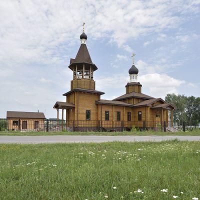 Храм Покрова Пресвятой Богородицы в Федосеевке