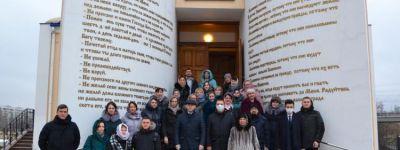 Богослужение в Татьянин день состоялось в храме в Белгородском госуниверситете